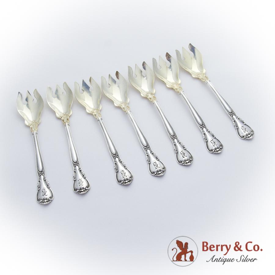 Gorham Sterling CHANTILLY GOLD Pierced Serving Spoon 2383990