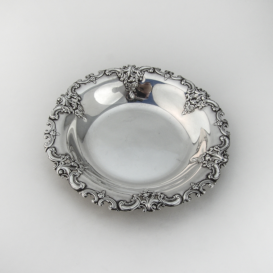 """Rose Point by Wallace Sterling Silver Nut Cracker HHWS  Custom Made 7 1//4/"""""""