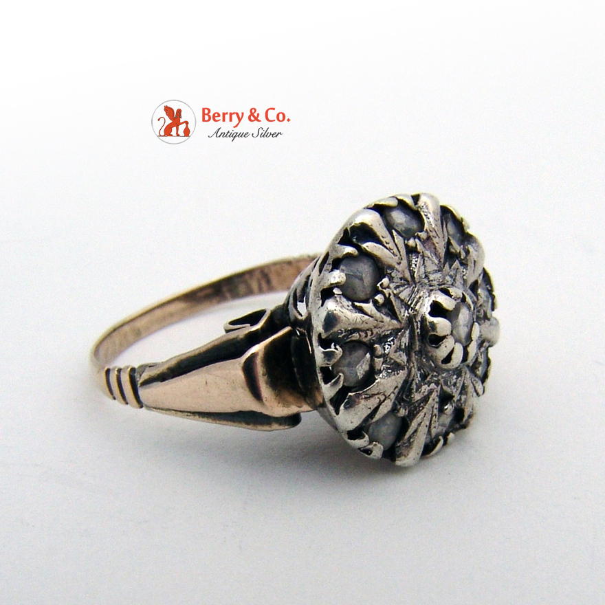 Antique 18th Century Diamond Ring