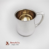 .Baby Cup Sterling Silver Towle Silversmiths