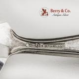 .Meadow Rose Baby Flatware Set Fork Spoon Sterling Silver Watson 1907
