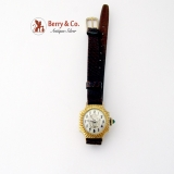 Edwardian Wrist Watch 14 K Gold