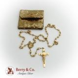 Vintage Gold Rosary 10 K Gold