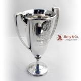.PPIE Yachting Trophy Sterling Silver Shreve and Co 1915