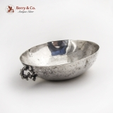 .Spanish Colonial Serving Bowl Coin Silver 1800