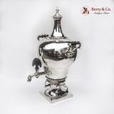 .Elizabeth Godfrey Rococco Tea Urn 1761 London Sterling Silver