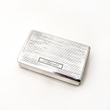 .Antique Austrian Snuff Box Sterling Silver 1815