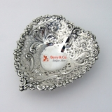 .Heart Bowl Dish Sterling Silver Gorham 956