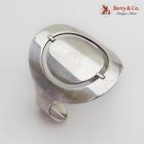 .Bent Knudsen Spinner Cuff Bracelet Sterling Silver Denmark
