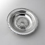 .Magnus Aase Figural Ship Dish Norwegian 830 Standard Silver
