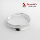 .Los Ballesteros Mobius Strip Bangle Bracelet Sterling Silver Mexico