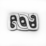 .Francisco Rivera Abstract Brooch Sterling Silver Mexico