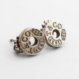 .Tiffany 1837 Stud Earrings Sterling Silver Italy