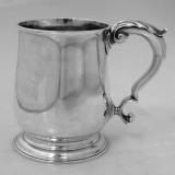 .Thomas Hammersley Mug American Colonial Silver 1760
