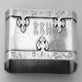 .Carmel Napkin Ring Mono REH