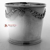 .American Coin Silver Beaker Baldwin Christmas 1852
