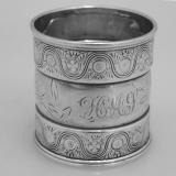 .American Sterling Silver Napkin Ring Gorham 1881