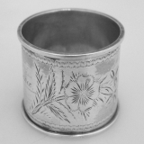 .American Sterling Silver Napkin Ring 1890