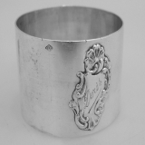 .French Sterling Silver Napkin Ring 1895-1923
