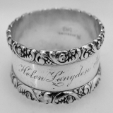 .Sterling Silver Napkin Ring 1900