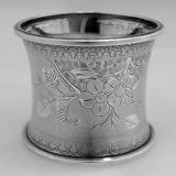 .Coin Silver Napkin Ring 1870