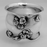 .Coin Silver Napkin Ring 1890