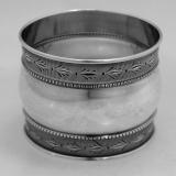 .American Coin Silver Napkin Ring Duhme 1875