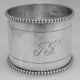 .Dutch 833 Silver Napkin Ring 1910