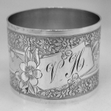 .French Sterling Silver Napkin Ring 1909