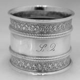 .Sterling Silver Napkin Ring Gorham 1879