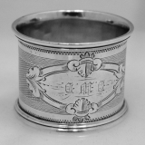 .American Coin Silver Napkin Rings 1880