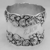 .American Sterling Silver Napkin Ring Gorham 1890