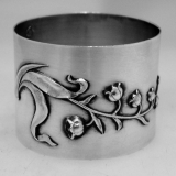 .French Sterling Silver Napkin Ring 1900