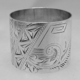 .Sterling Silver Napkin Ring 1890