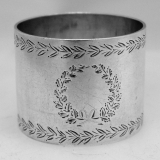 .Sterling Silver Napkin Ring Shiebler 1900