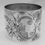 .Sterling Silver Napkin Ring 1880