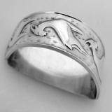 .Norwegian 830 Standard Silver Napkin Ring 1930