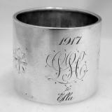 .Sterling Silver Napkin Ring Gorham 1917