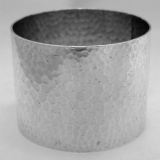 .Hammered Napkin Ring Dominick and Haff Sterling Silver 1885