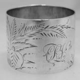 .Sterling Silver Napkin Ring 1882
