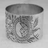 .Sterling Silver Napkin Ring Towle 1900