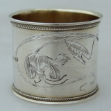 .Russian Art Nouveau Napkin Ring 1900