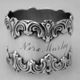 .American Sterling Silver Napkin Ring 1900