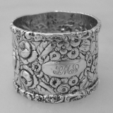 .American Sterling Silver Repose Napkin Ring by Stieff 1890