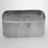 .American Sterling Silver Napkin Ring by Kalo 1911