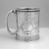 .Gorham Aesthetic Sterling Silver Baby Cup 1876