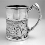 .Gorham Sterling Silver Child′s Cup 1886