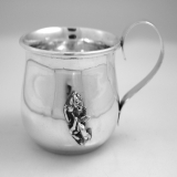 .Allan Adler Sterling Silver Baby Cup 1964