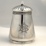 .Gorham Aesthetic Sterling Silver Sugar Shaker 1870