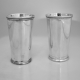 .Julep Cups Sterling Silver Eugen Ferner Germany 1960